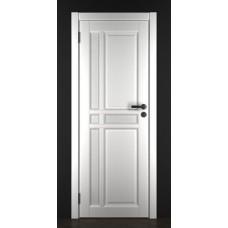 """Дверь межкомнатная из массива ольхи ДорВуд """"Модель №11"""" эмаль белая"""