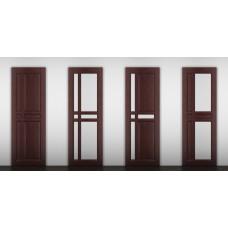 """Дверь межкомнатная из массива ольхи ДорВуд """"Модель №11"""""""