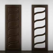 """Дверь межкомнатная из массива ольхи ДорВуд """"Модель №14"""""""