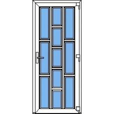 Дверь ПВХ Модель 11