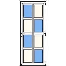 Дверь ПВХ Модель 12