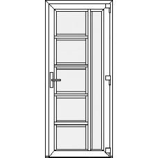 Дверь ПВХ Модель 14