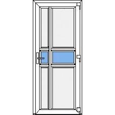 Дверь ПВХ Модель 17