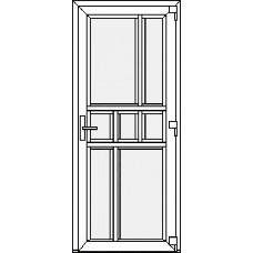 Дверь ПВХ Модель 18