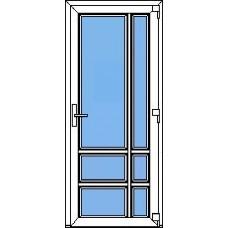 Дверь ПВХ Модель 19