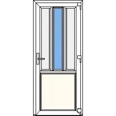 Дверь ПВХ Модель 2