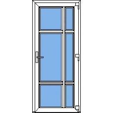 Дверь ПВХ Модель 21