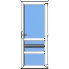 Дверь ПВХ Модель 22