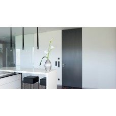 Дверь со стеклянными матовыми панелями (индивидуальный размер)