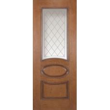 """Дверь межкомнатная """"Валенсия"""" (частично остеклённая)"""